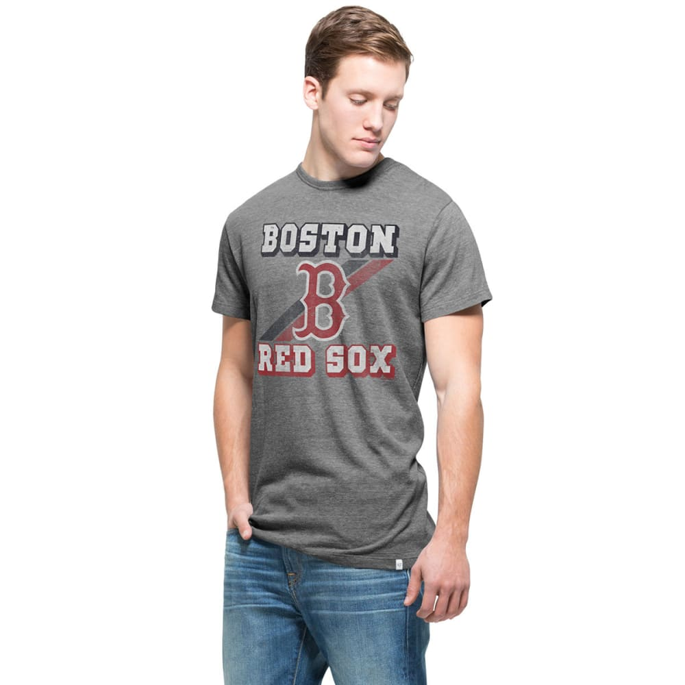 BOSTON RED SOX Men's '47 Tri-State Short-Sleeve Tee L
