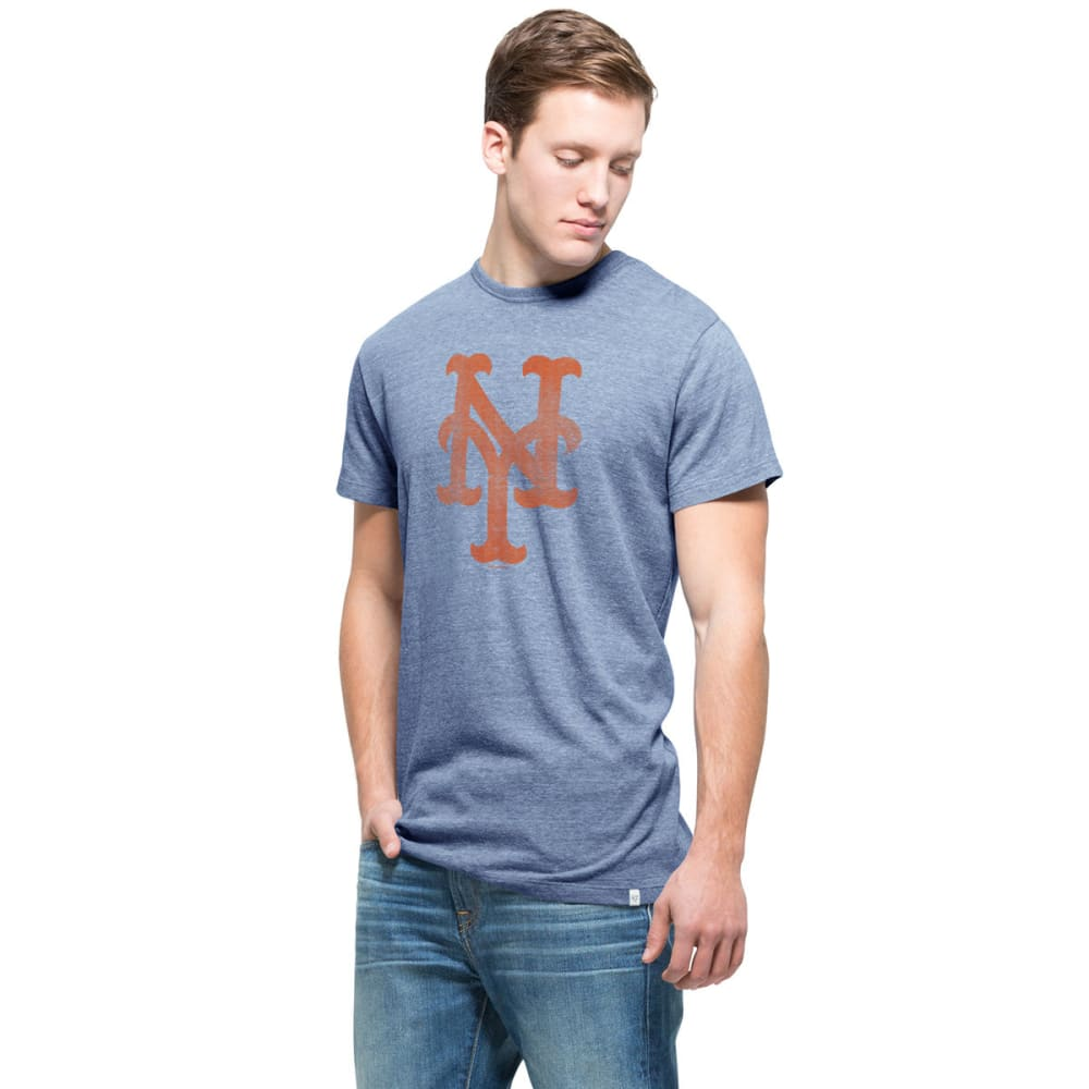 NEW YORK METS Men's '47 Tri-State Short-Sleeve Tee M