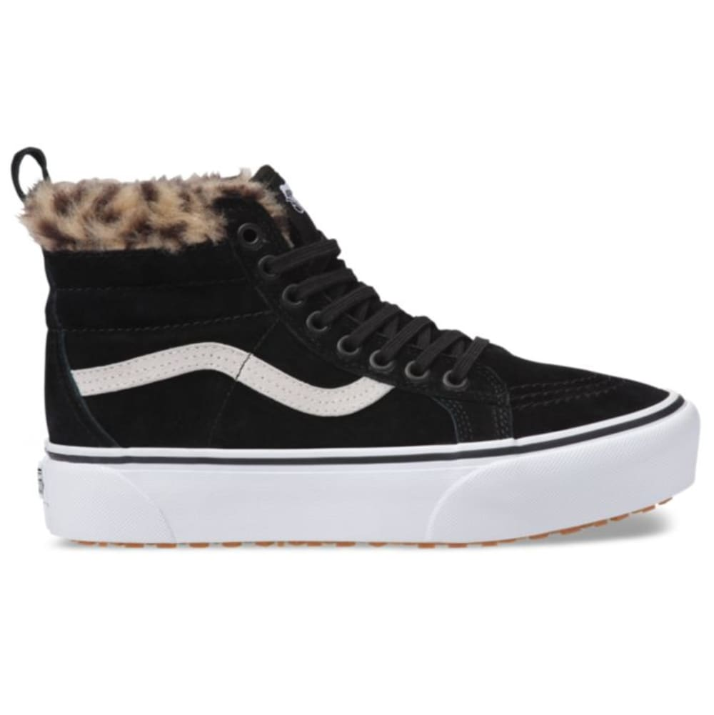 Vans Unisex Sk8-Hi Platform Mte Sneakers - Black, 7