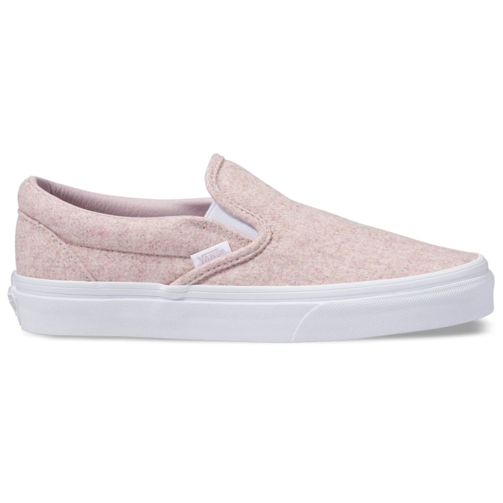 VANS Unisex Classic Flannel Slip-On Sneakers - VIOLET ICE/TRUE WHIT