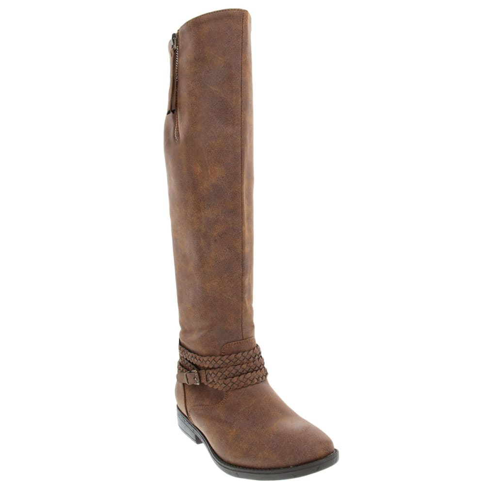 RAMPAGE Women's Inessa Riding Boots - BROWN