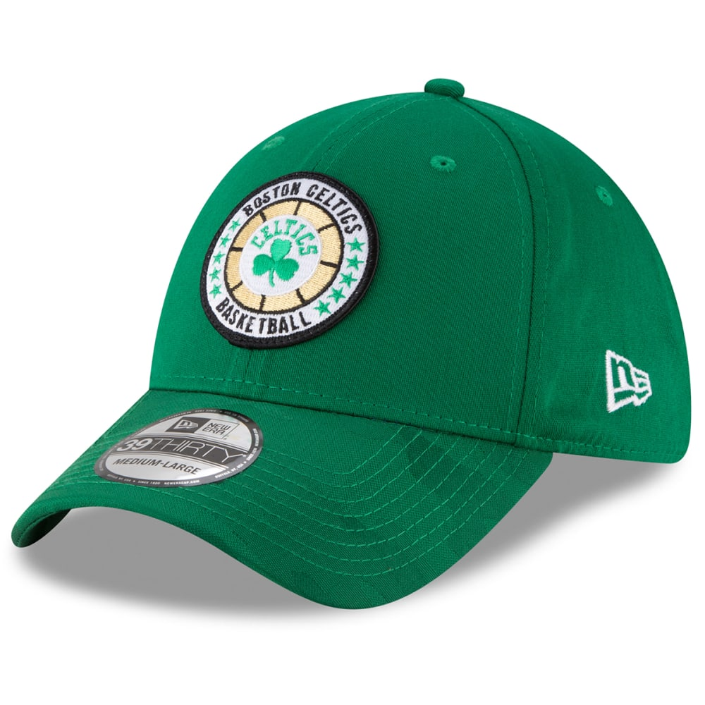 BOSTON CELTICS NBA 2018 Tip-Off Series 39THIRTY Fitted Cap - GREEN