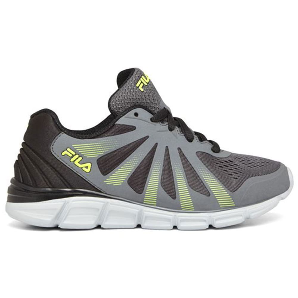 FILA Boys' Fraction 2 Running Shoes - GREY-055