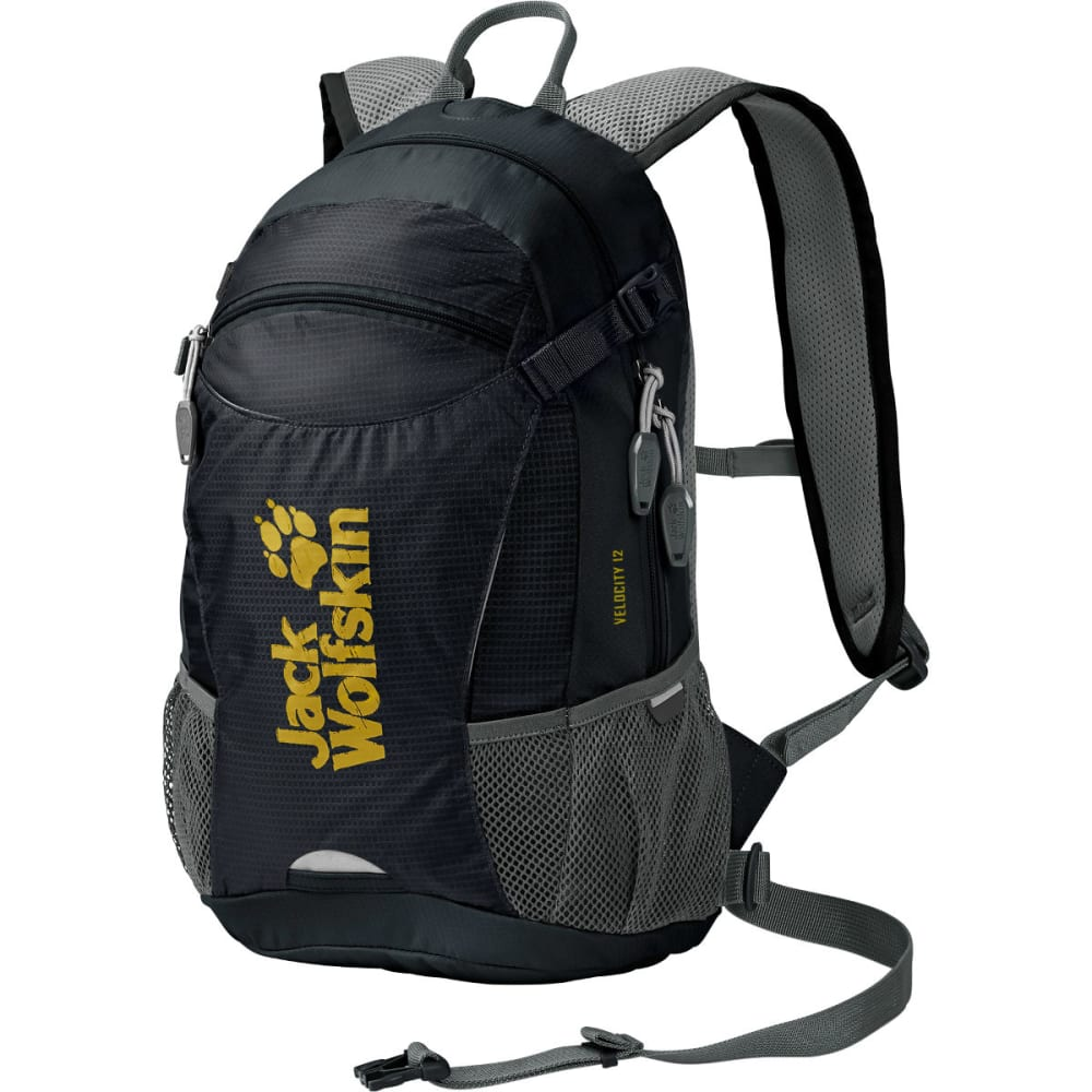 JACK WOLFSKIN Velocity 12 Bike Backpack - BLACK
