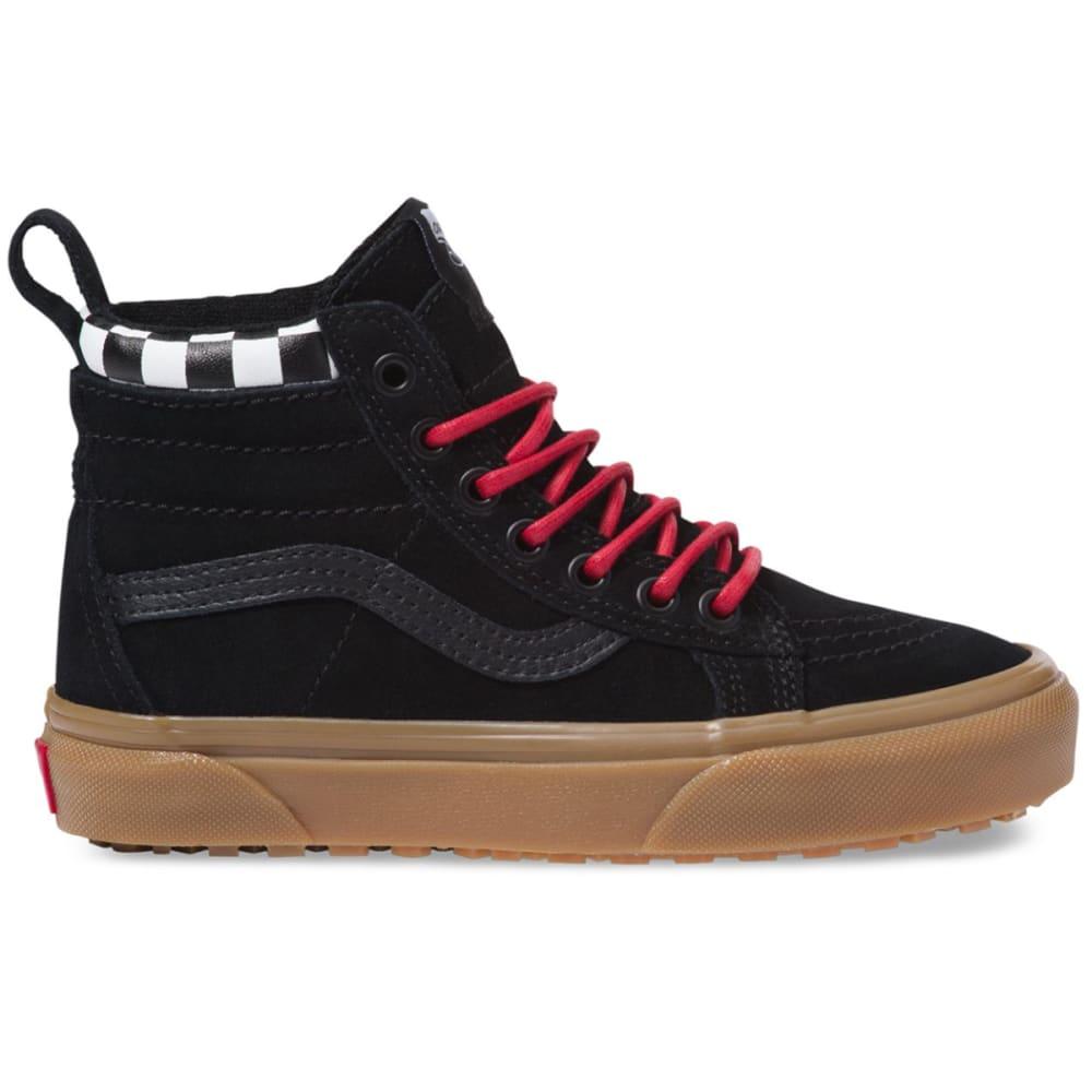 VANS Boys' Sk8-Hi MTE Skate Shoes - CHK/BLK/GUM