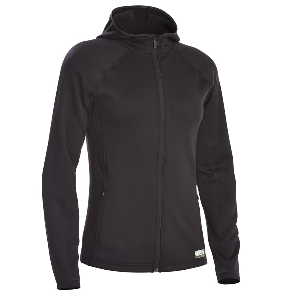 Ems(R) Women's Equinox Power Stretch Hoodie - Black, S