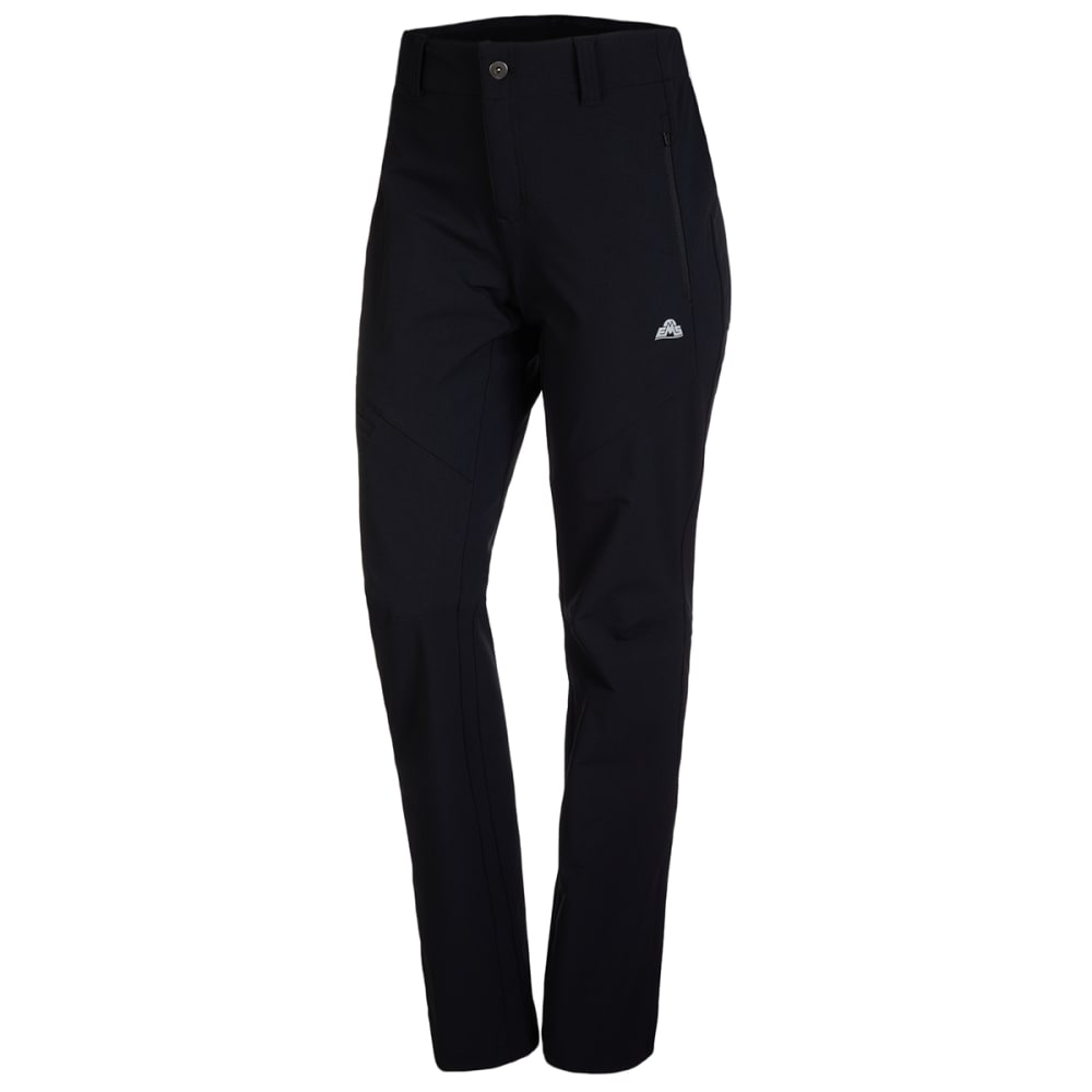 Ems Women's Pinnacle Soft Shell Pants - Black, 4/S