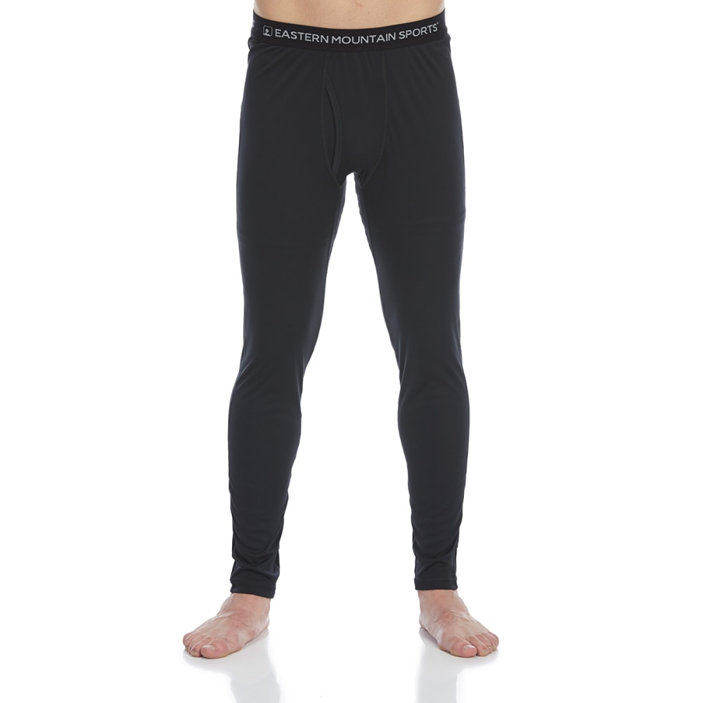 EMS Men's Techwick Lightweight Base Layer Bottoms - ANTHRACITE
