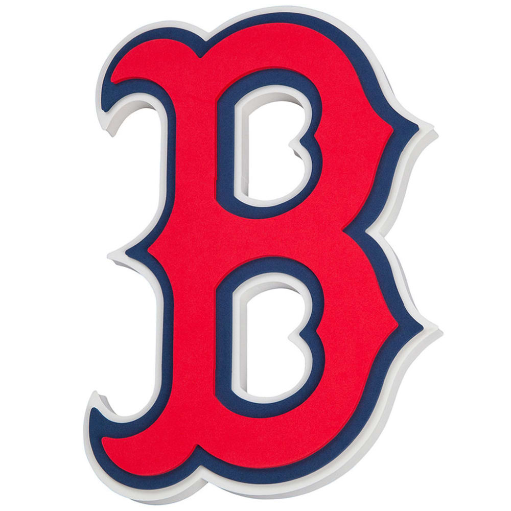 BOSTON RED SOX 7 in. 3D Foam Magnet - NO COLOR
