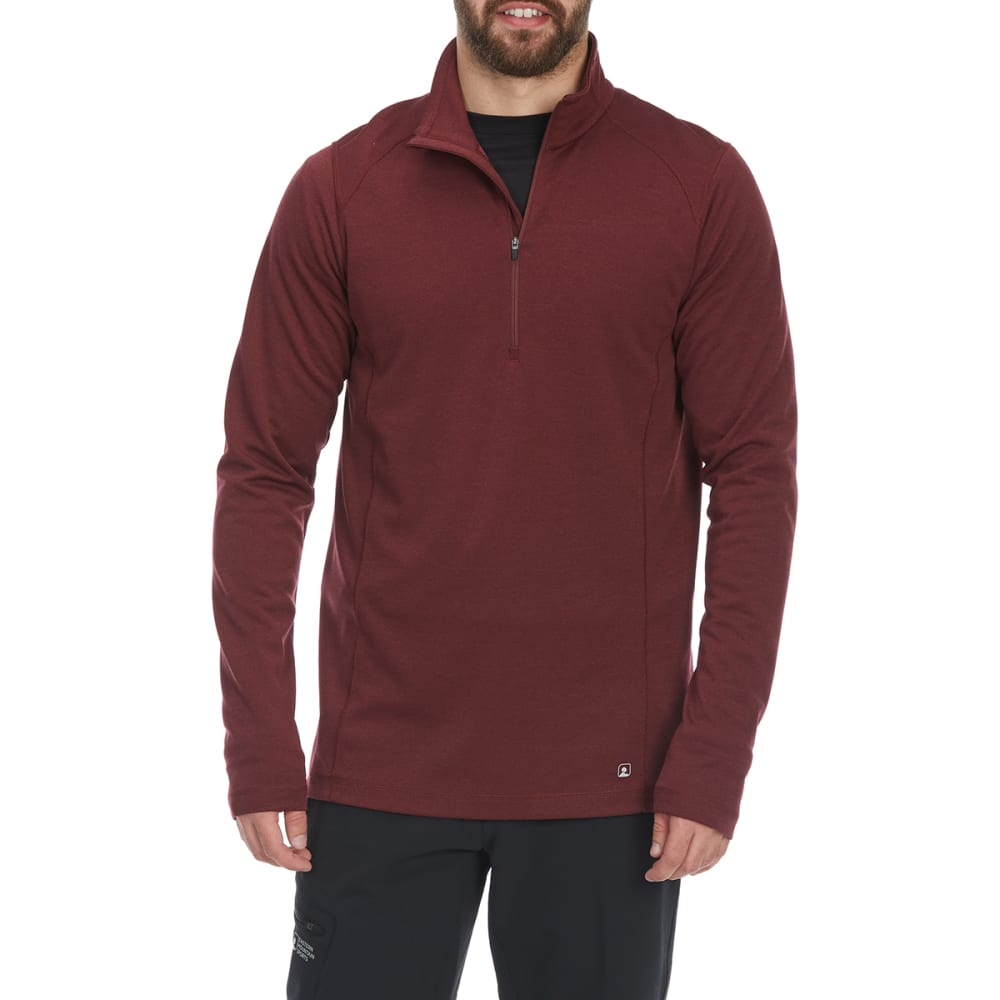 EMS Men's Techwick Dual Thermo II Half Zip Pullover M