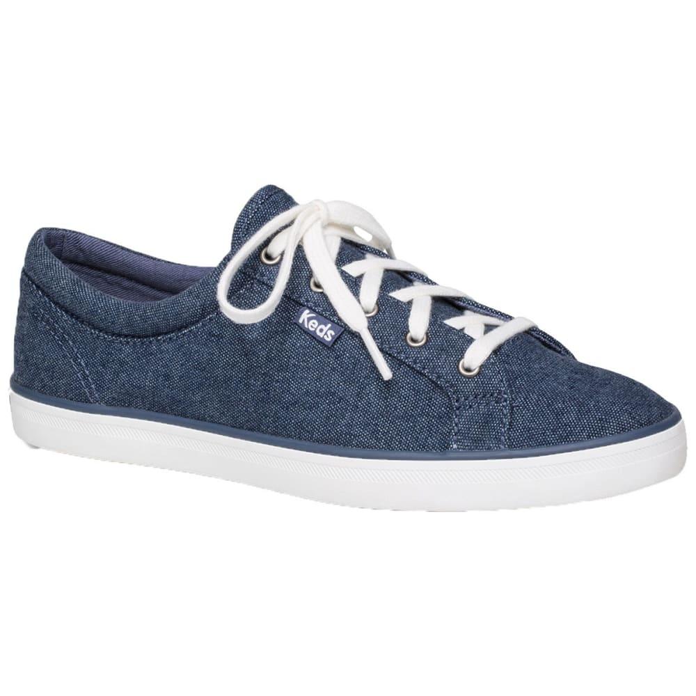 KEDS Women's Maven Chambray Sneakers - NAVY