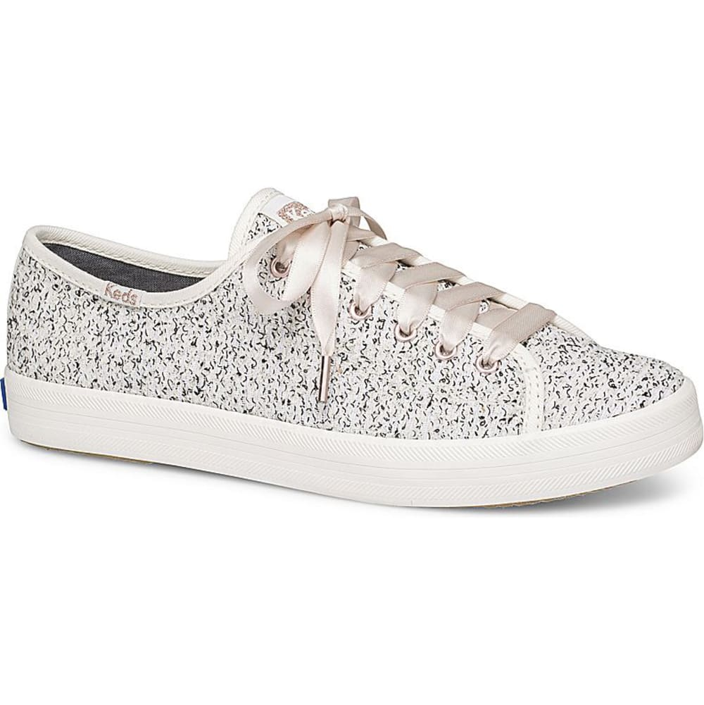 KEDS Women's Kickstart Two-Tone Boucle Sneakers - BOUCLE/WHITE