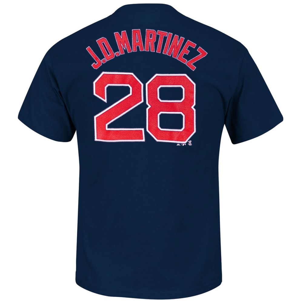 BOSTON RED SOX Men's JD Martinez #28 Name and Number Short-Sleeve Tee - NAVY