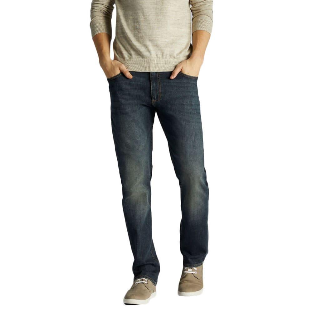 LEE Men's Extreme Motion Straight Fit Tapered Leg Jeans - MAVERICK 5037