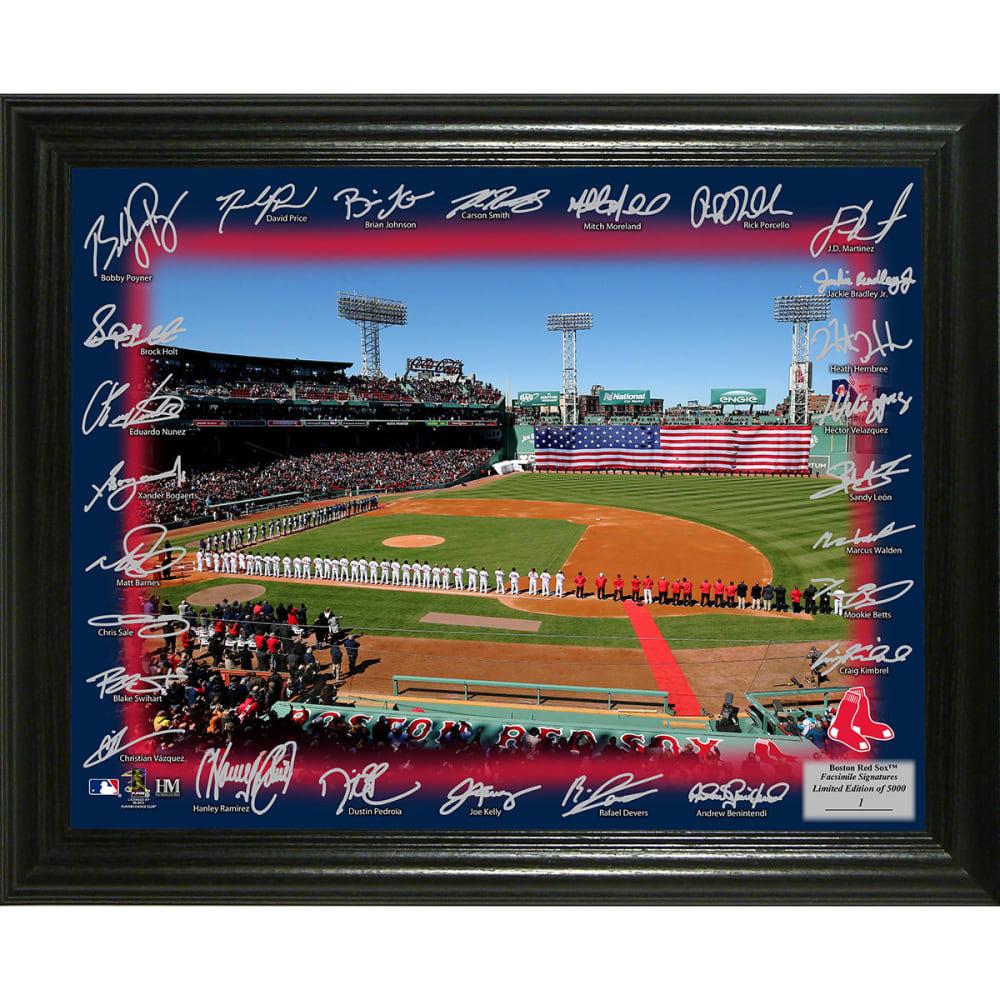 BOSTON RED SOX 2018 Signature Field Photo - NO COLOR