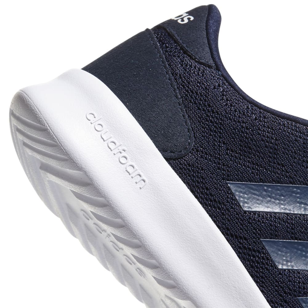 ADIDAS Women's Cloudfoam QT Racer Sneakers - NAVY/WHITE