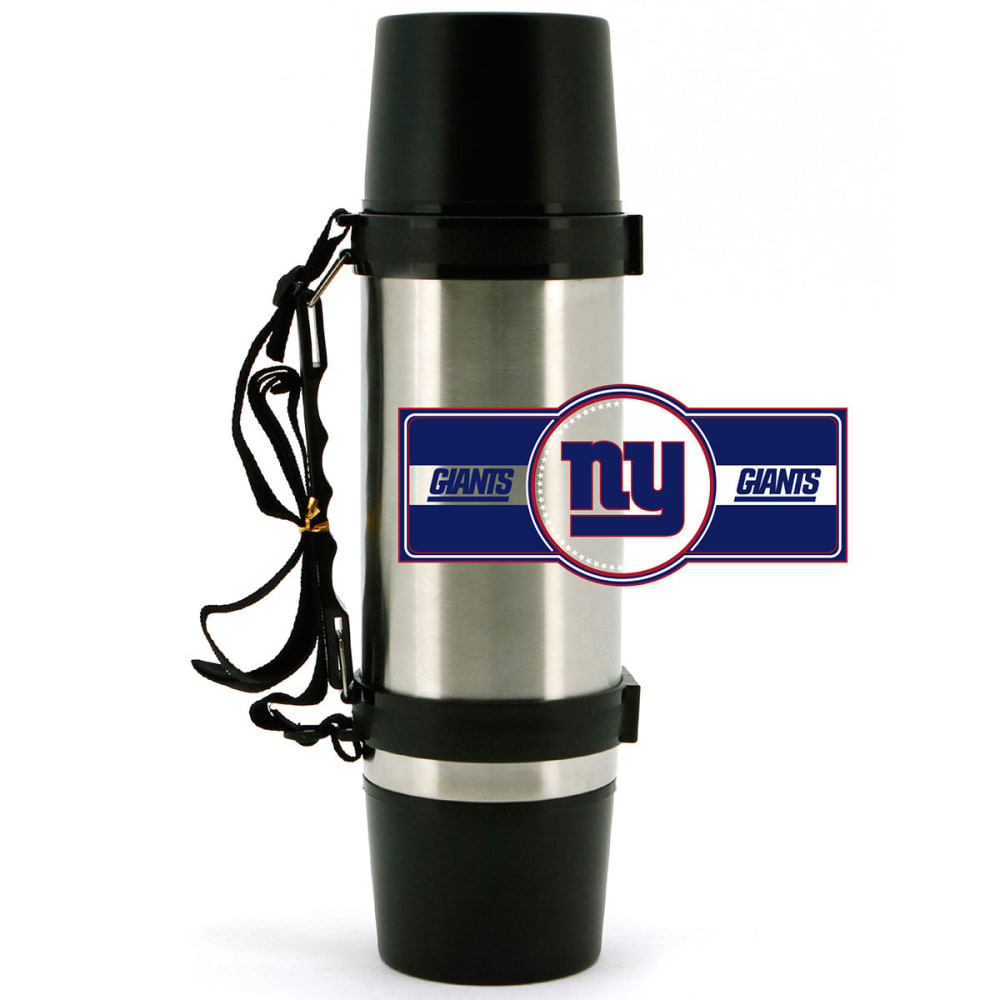 NEW YORK GIANTS 40 oz. Stainless Steel Double-Wall Super Thermos - NO COLOR