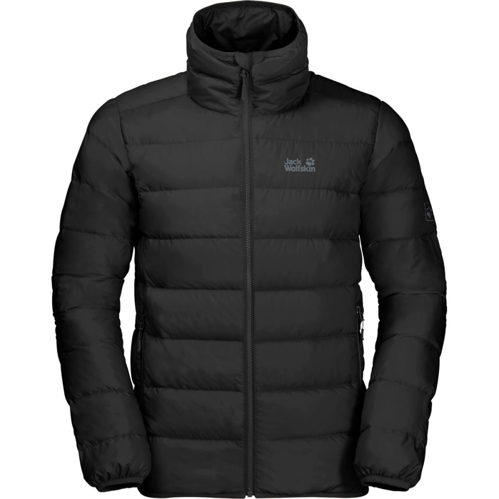 JACK WOLFSKIN Men's Helium High Jacket - BLACK