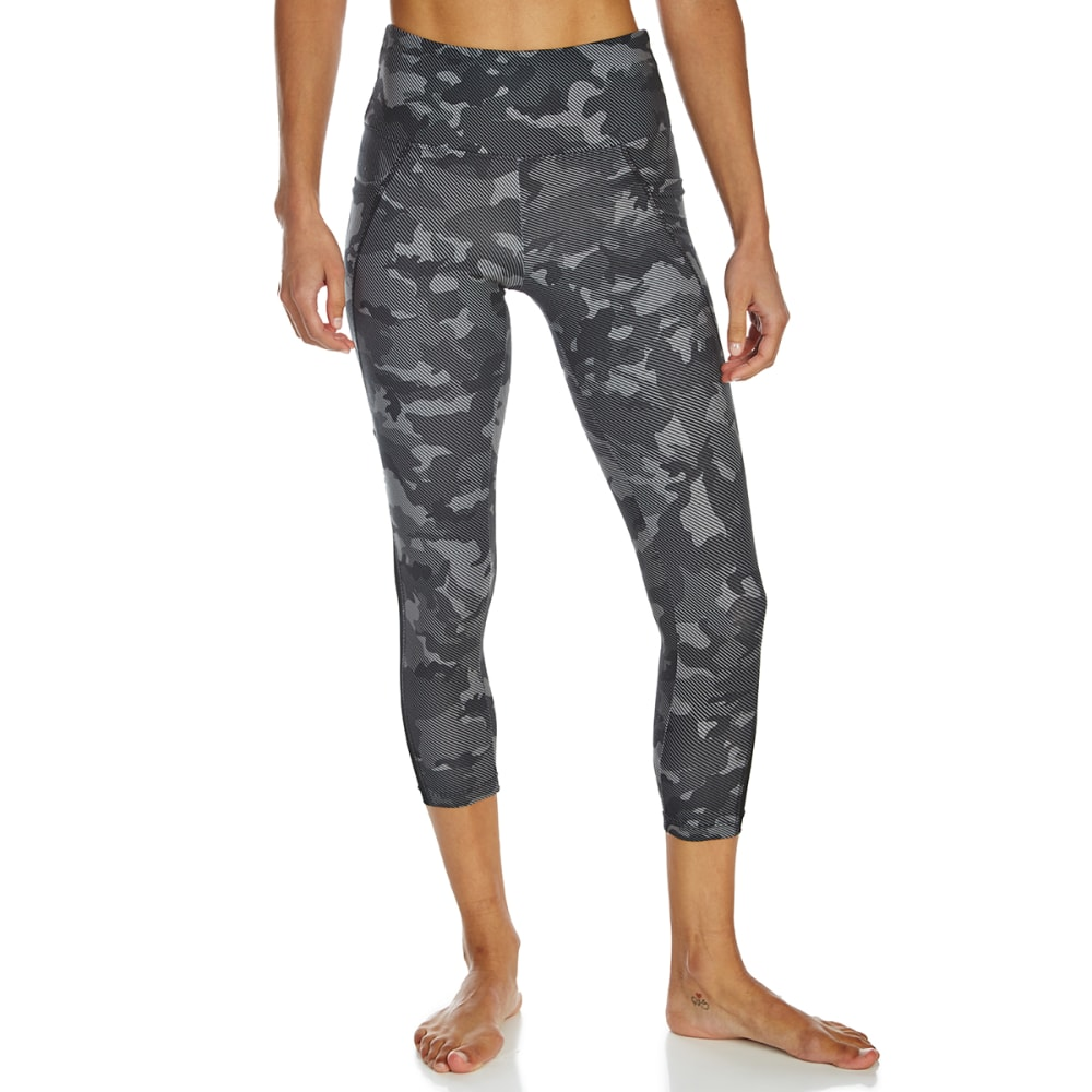 MARIKA Women's Activate Mid-Calf Leggings - BLACK/GREY CAMO