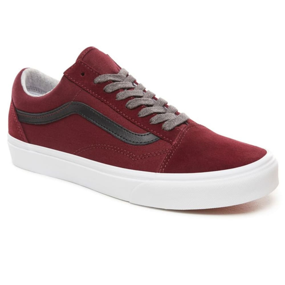 VANS Men's Old Skool Jersey Lace Skate Shoes - PORT ROYALE/BLACK