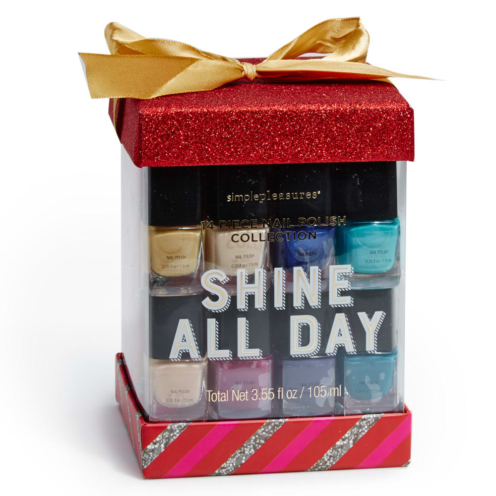 TRI-COASTAL DESIGNS Winter Wonderland Nail Cube - NO COLOR