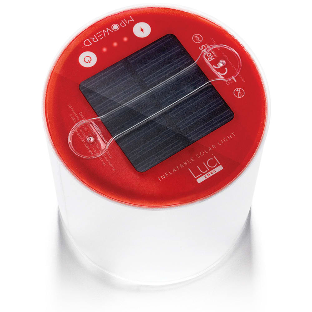 MPOWERD Luci EMRG Inflatable Solar Light - NO COLOR