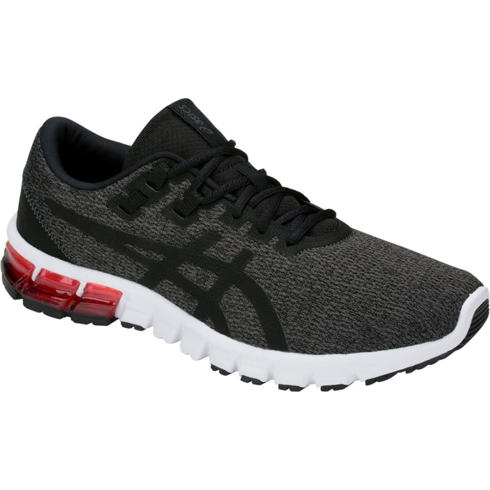 ASICS Men's GEL-Quantum 90 Running Shoes - DRK GRY/BLK/RED-021