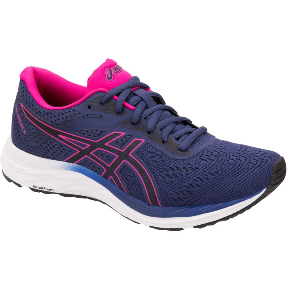 ASICS Women's GEL-Excite 6 Running Shoes - INDIGO/PINK-400