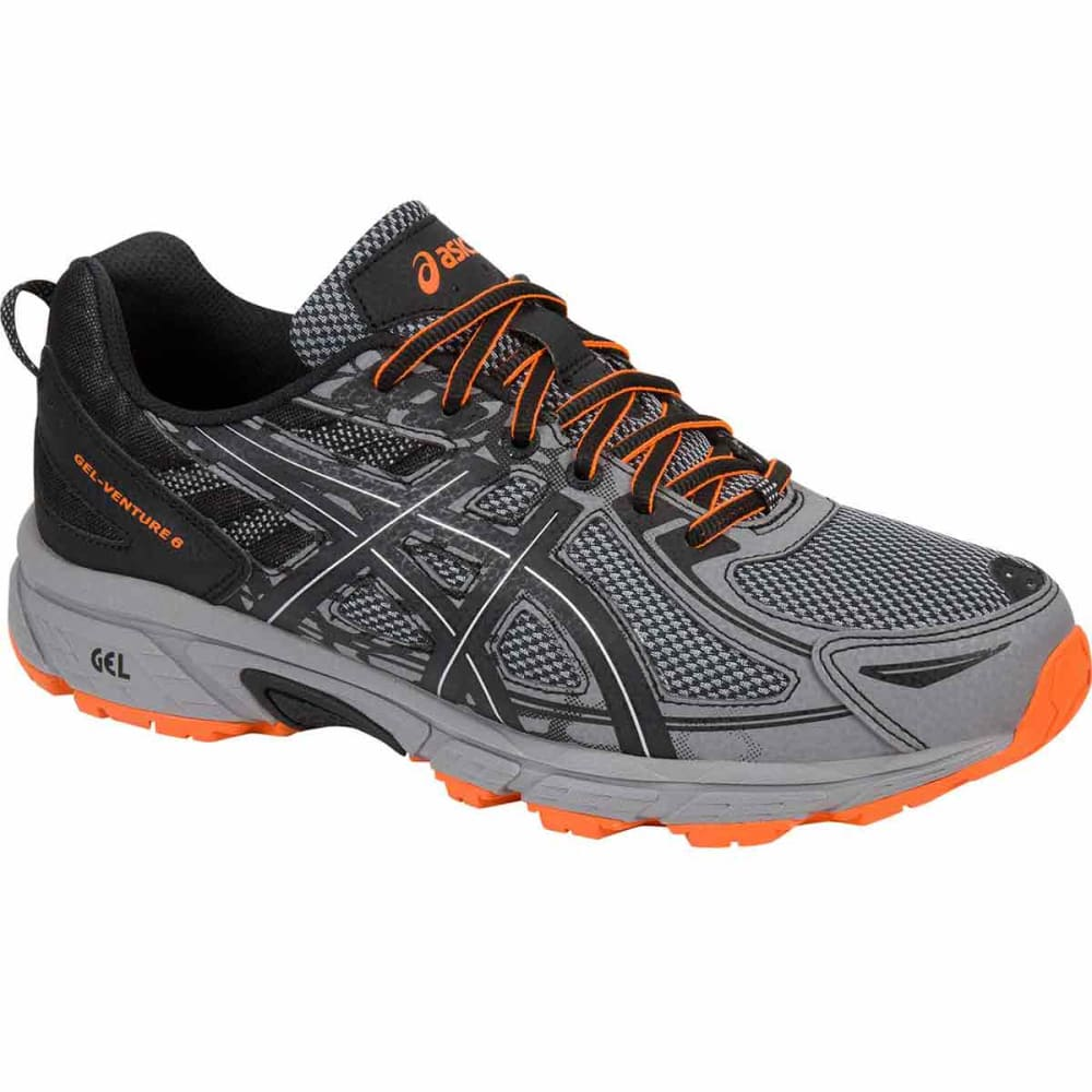 Asics Men's Gel-Venture 6 Running Shoes - Black, 9