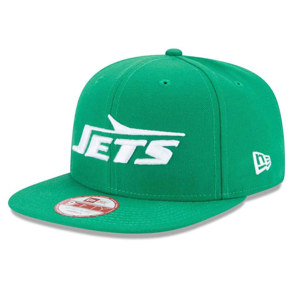NEW YORK JETS Men's Retro Logo 9Fifty Snapback Cap - GREEN