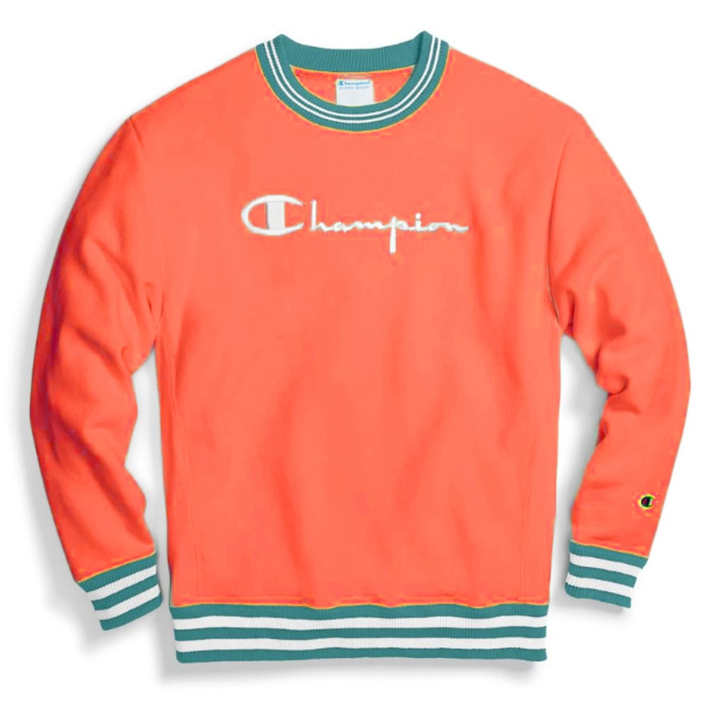 CHAMPION Men's Reverse Weave Crew Neck Pullover Sweatshirt M