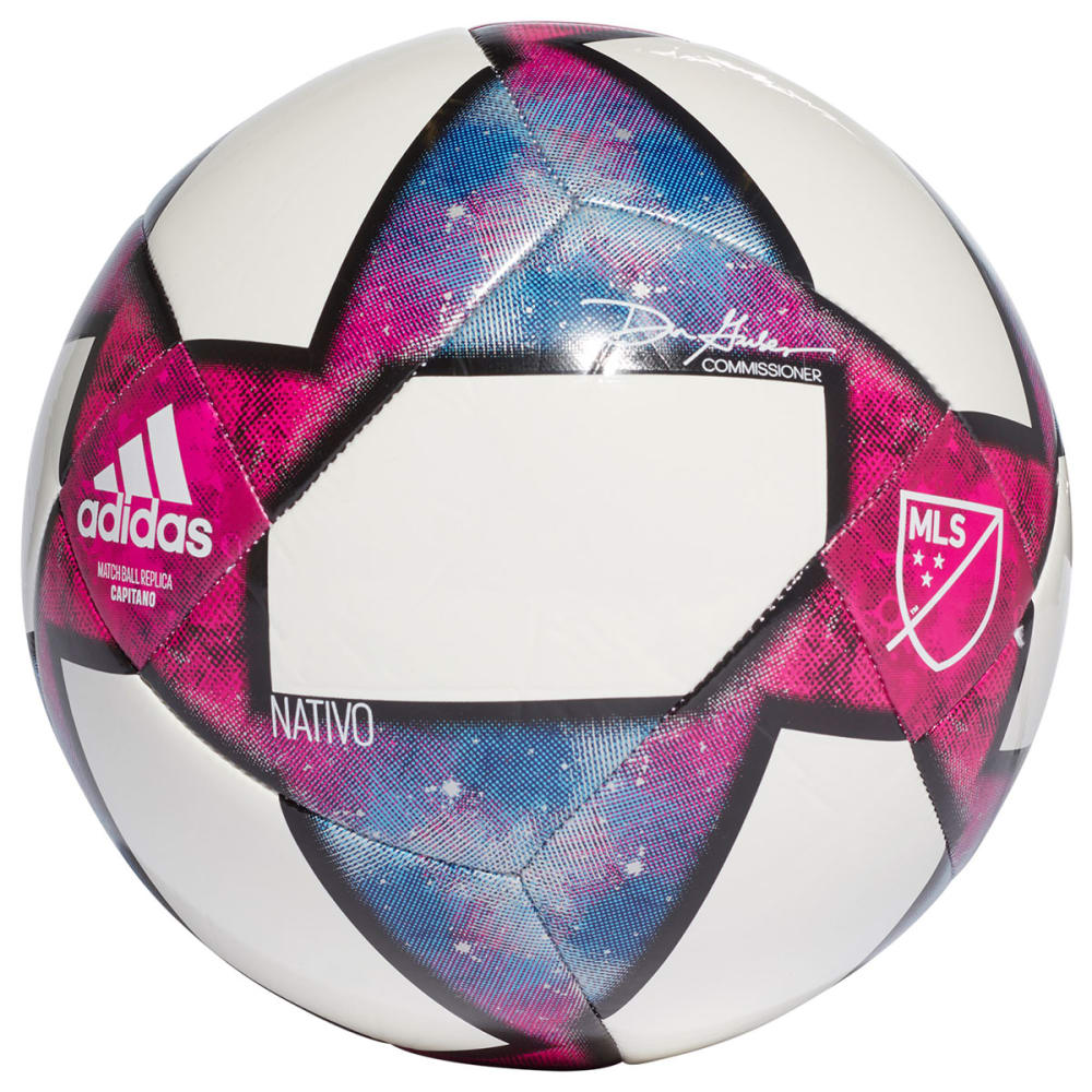 Adidas Mls Capitano Ball - White, 4