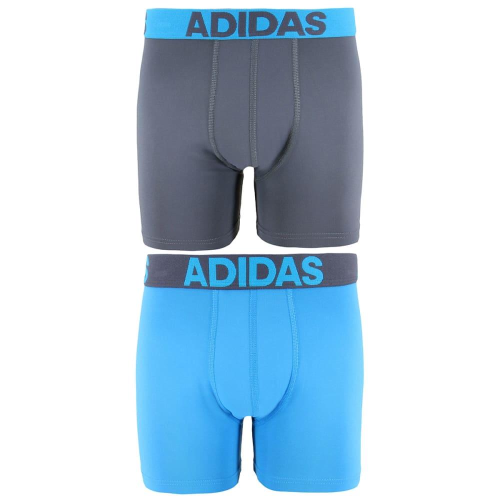 Adidas Boys' Boxer Briefs, 2-Pack - Black, M