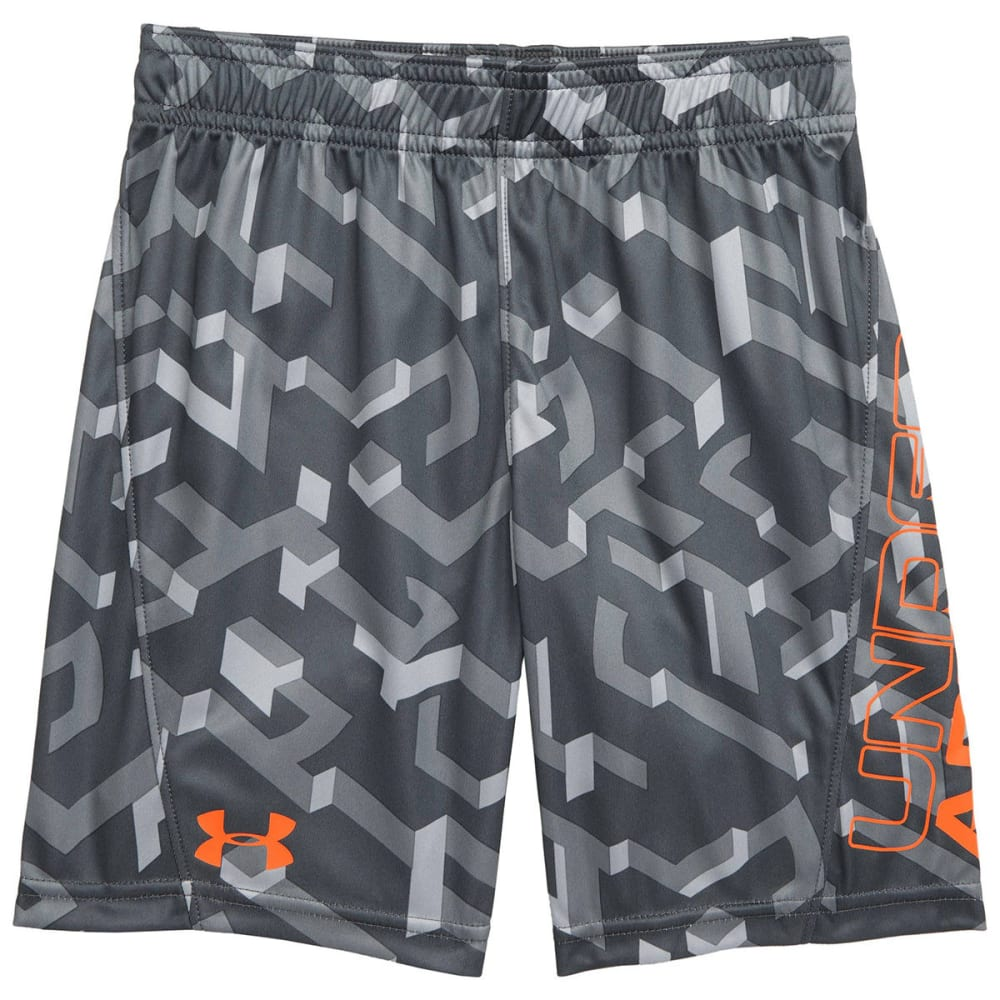 UNDER ARMOUR Little Boy's Knockout Boost Shorts 4