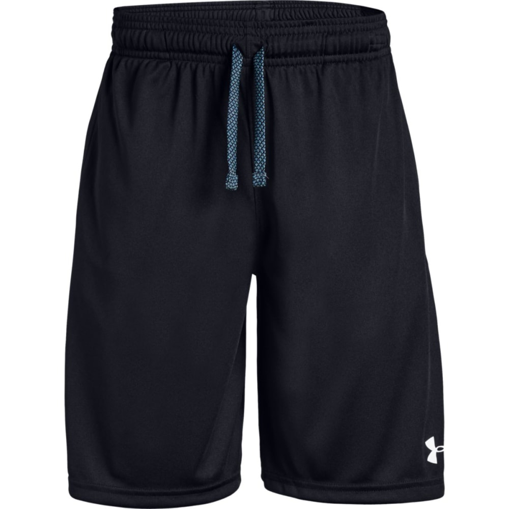 Under Armour Boys' Prototype Wordmark Shorts - Black, S