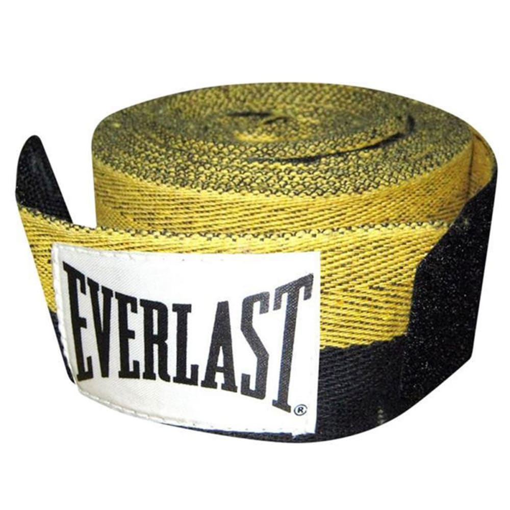 EVERLAST Herringbone Handwrap - BLACK/YELLOW
