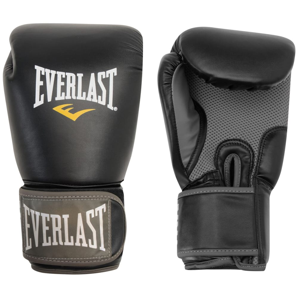 EVERLAST Muay Thai Gloves - BLACK