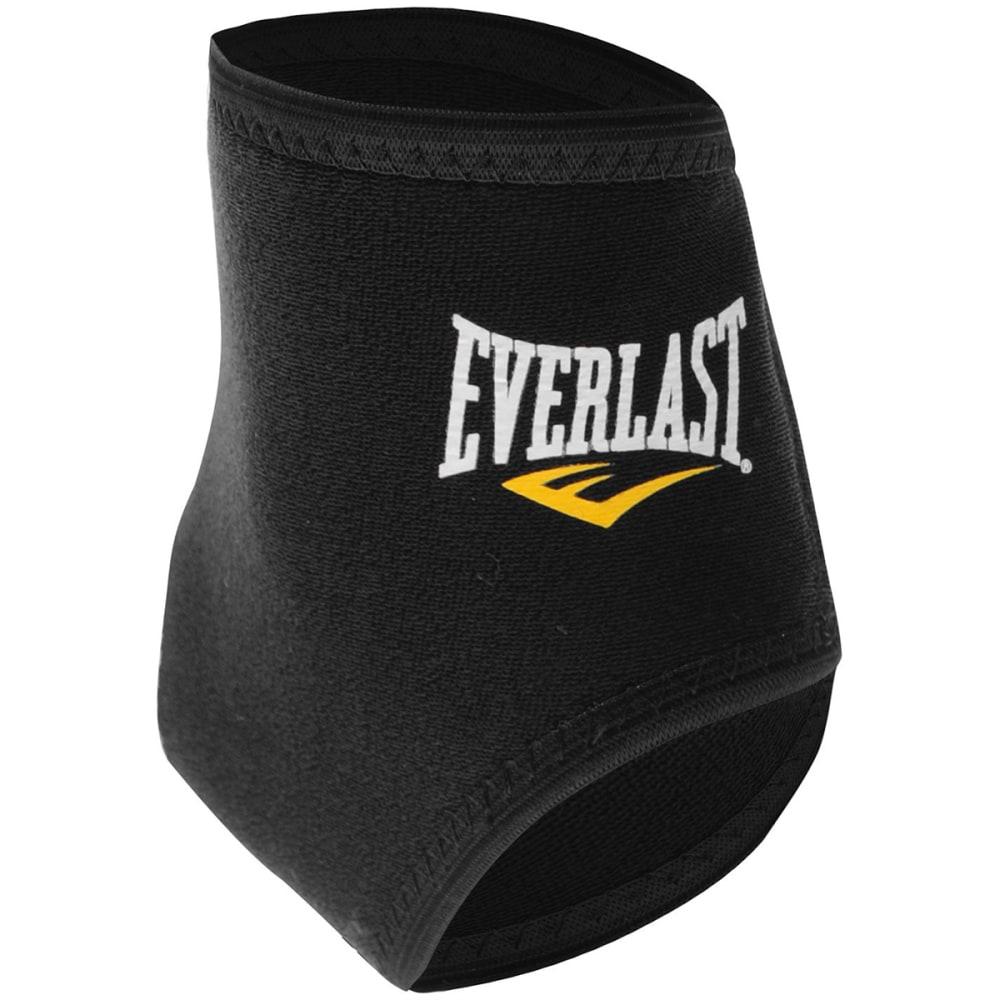 EVERLAST Neoprene Ankle Support Sleeve - BLACK