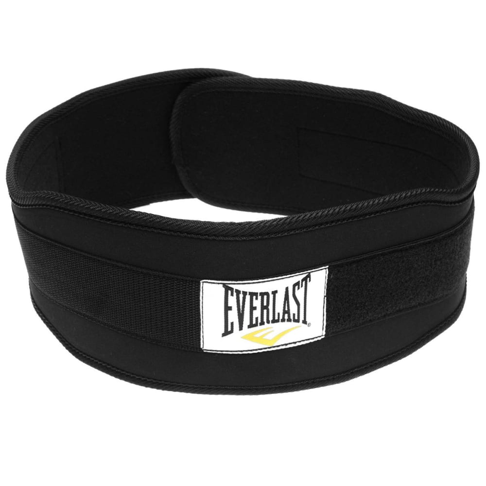 EVERLAST Adult Weightlifting Belt - BLACK