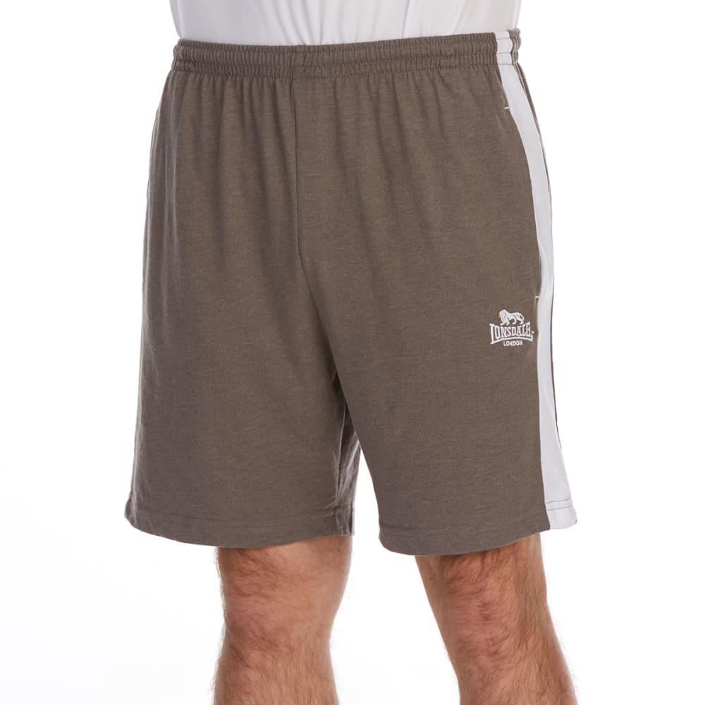 Lonsdale Men's Jersey Shorts - Black, 4XL