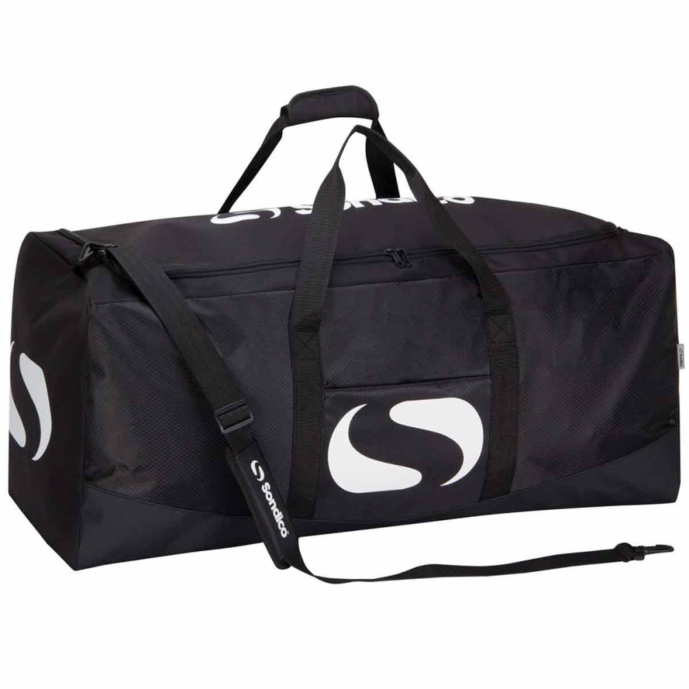 SONDICO Team Kit Duffle Bag - BLACK/CHARCOAL