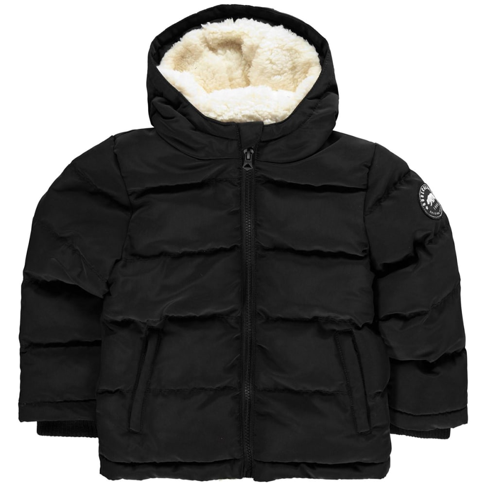 SOULCAL Big Boys' 2-Zip Bubble Jacket 7-8X