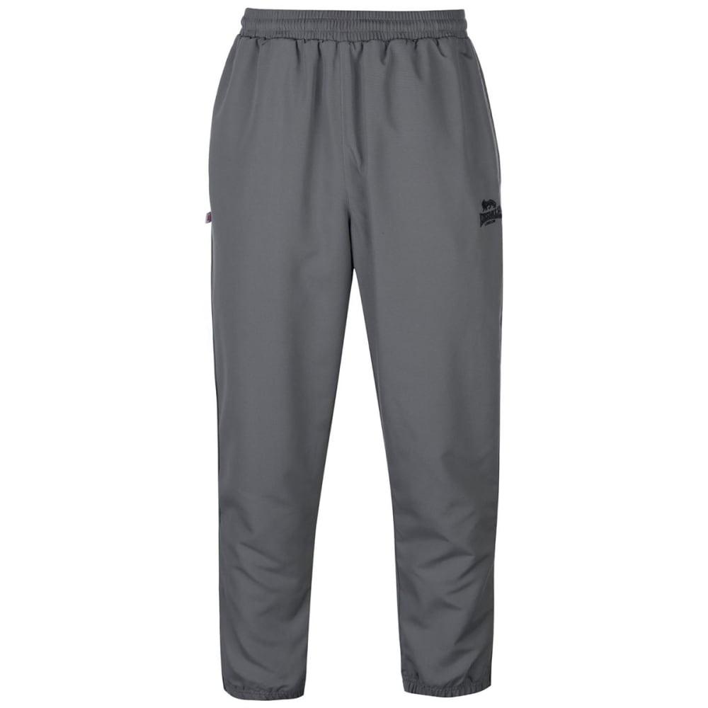 Lonsdale Men's Cuffed Hem Woven Pants - Black, L
