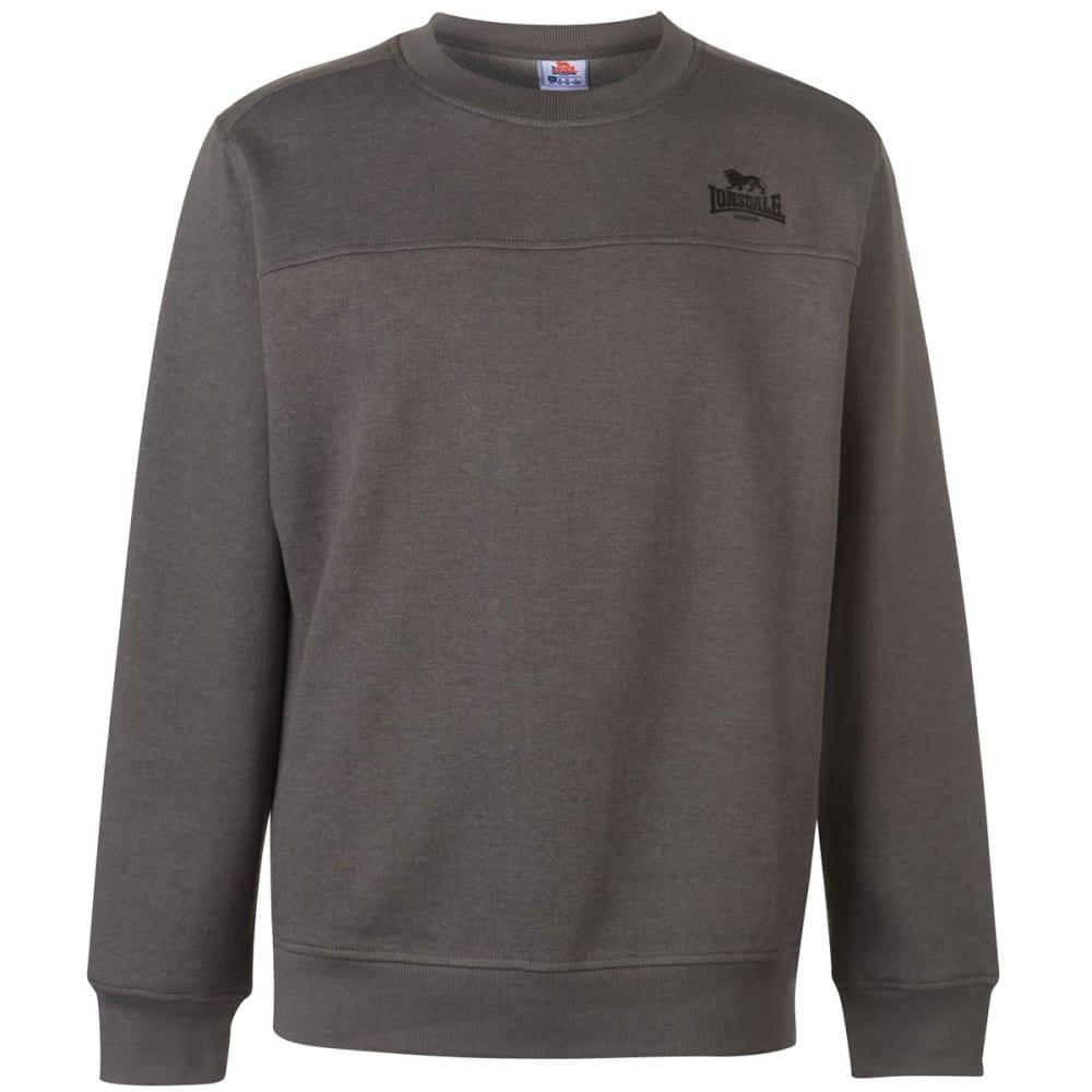 Lonsdale Men's Crewneck Sweatshirt - Black, 4XL