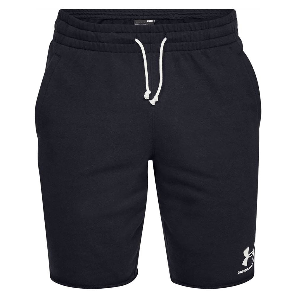 Under Armour Men's Sportstyle Terry Shorts - Black, S