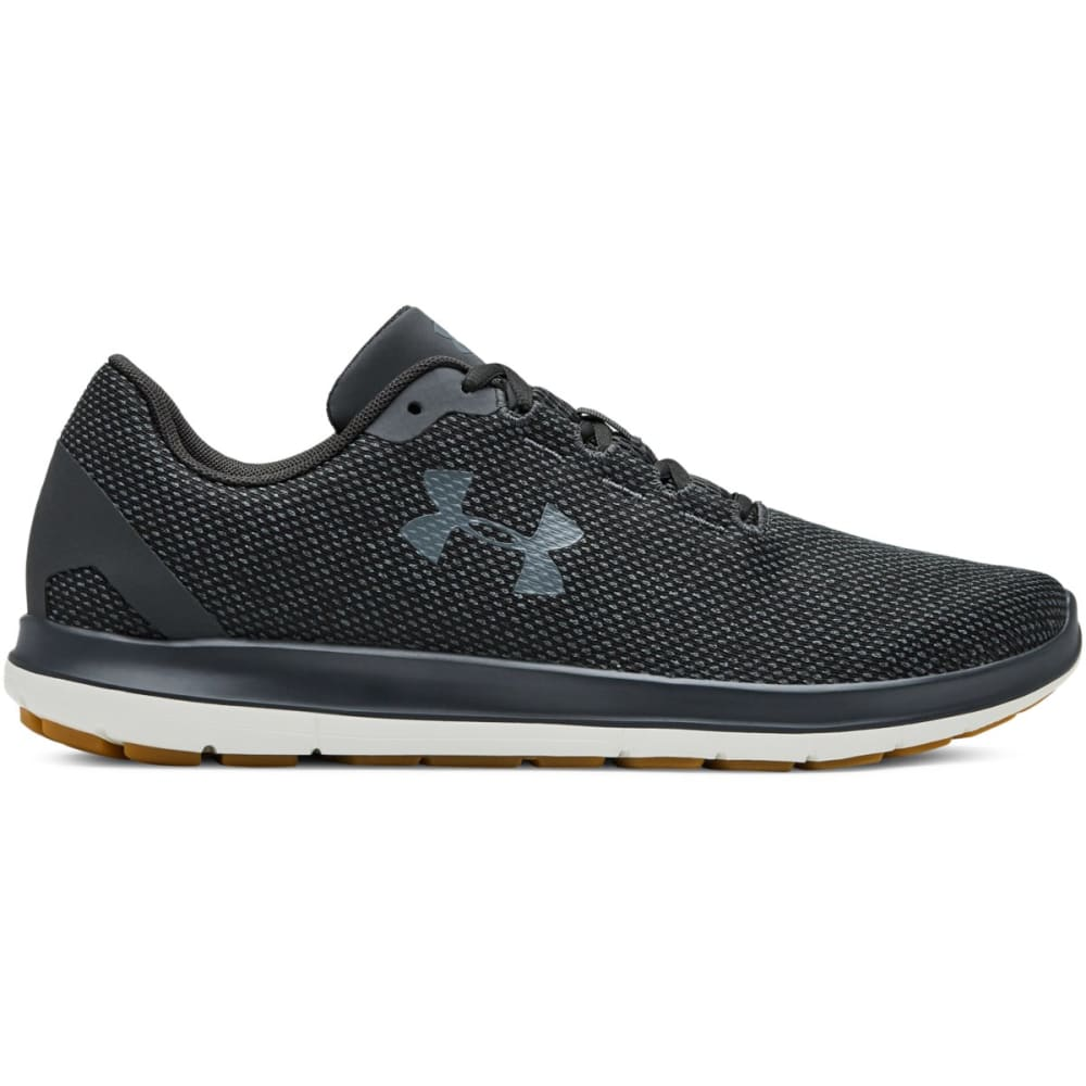 UNDER ARMOUR Men's Remix Running Shoes - JET GRAY-102