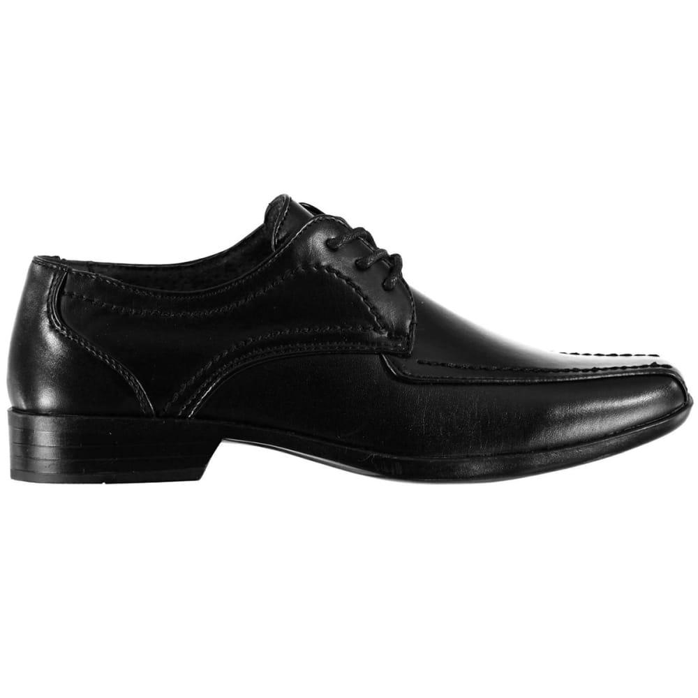 GIORGIO Big Boys' Bourne Lace-Up Dress Shoes - BLACK