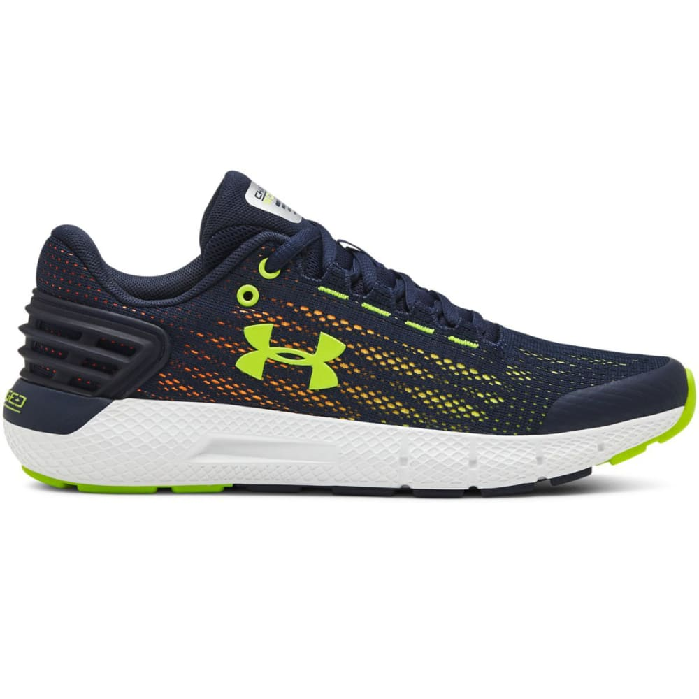 UNDER ARMOUR Big Boy's Grade School Charged Rogue Running Shoes 3.5