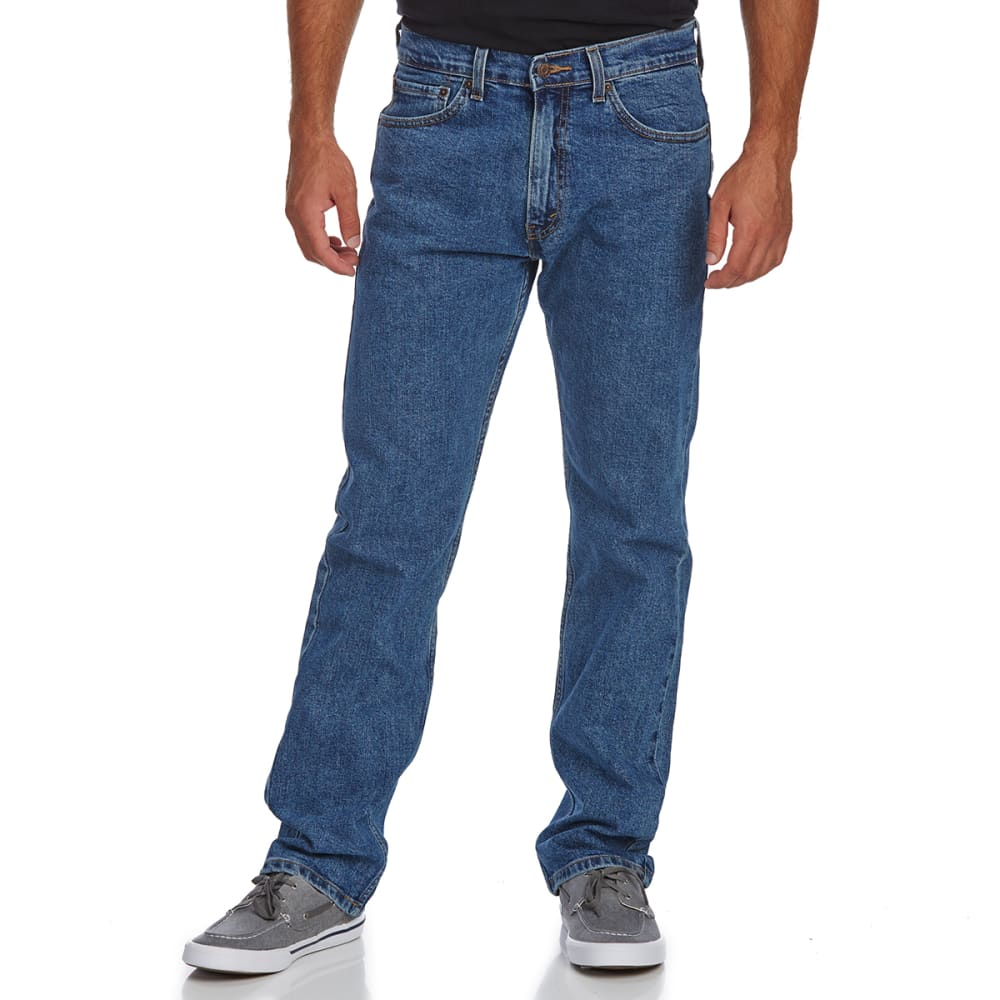 SIGNATURE by Levi Strauss & Co. Gold Label Men's Regular Fit Jeans - Discontinued Style - MED STONEWASH 0080