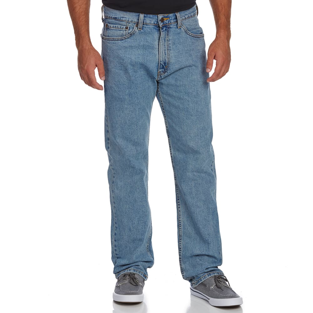 SIGNATURE by Levi Strauss & Co. Gold Label Men's Regular Fit Jeans - Discontinued Style - LIGHT STONEWASH 0079